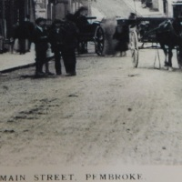 Who or What has been captured in Pembroke Photo?