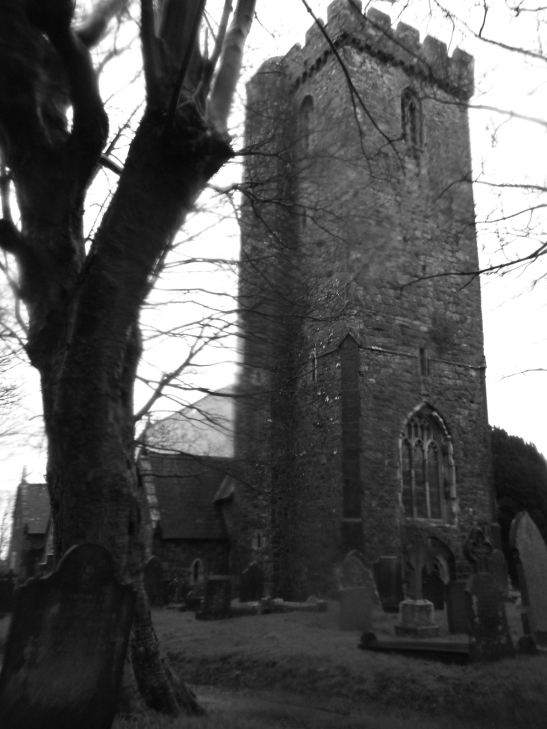 St Thomas Church. Home of the Owl man? Picture taken by G L Davies