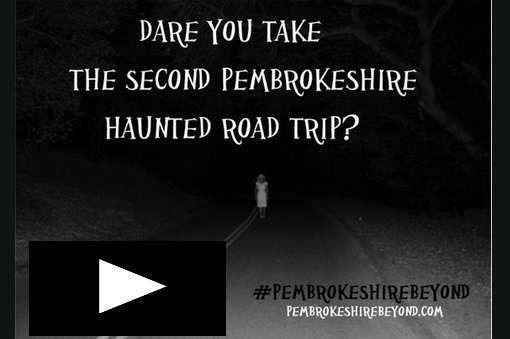 Click to hear more on the Pembrokeshire haunted road trip and how you can win some cool stuff and join the team for a special investigation!