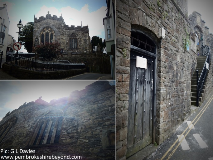St Marys Haverfordwest. Has a ghostly monk been seen leaving this building?